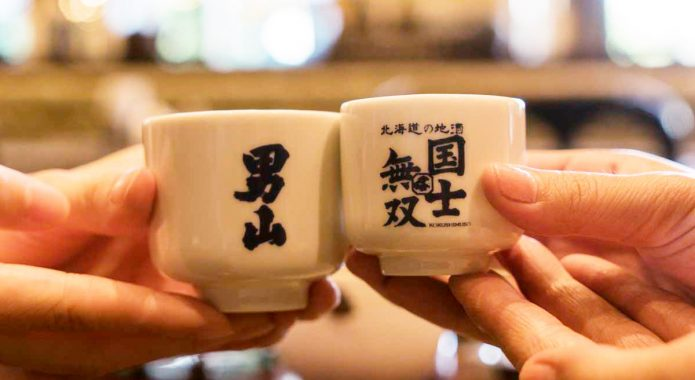 An Asahikawa local sake tour